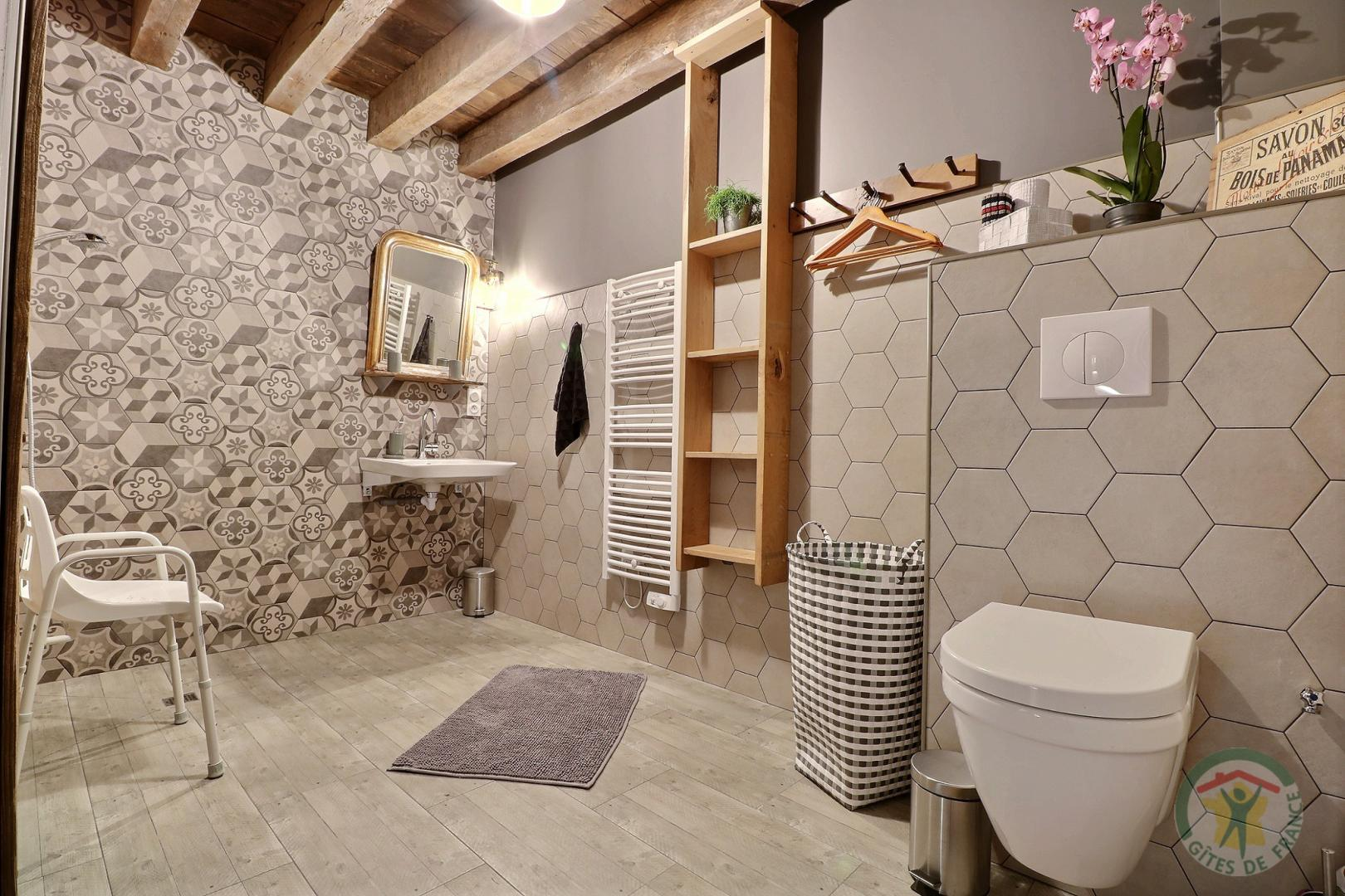 Gîte au bois charmant (1ere Salle de bain RDC)