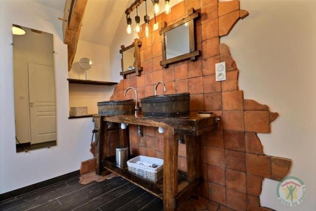 Gîte au bois charmant (3eme Salle de bain étage)
